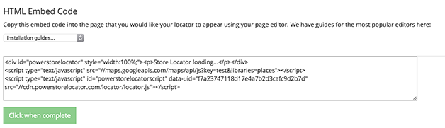 How to add a Google Maps API key to your store locator